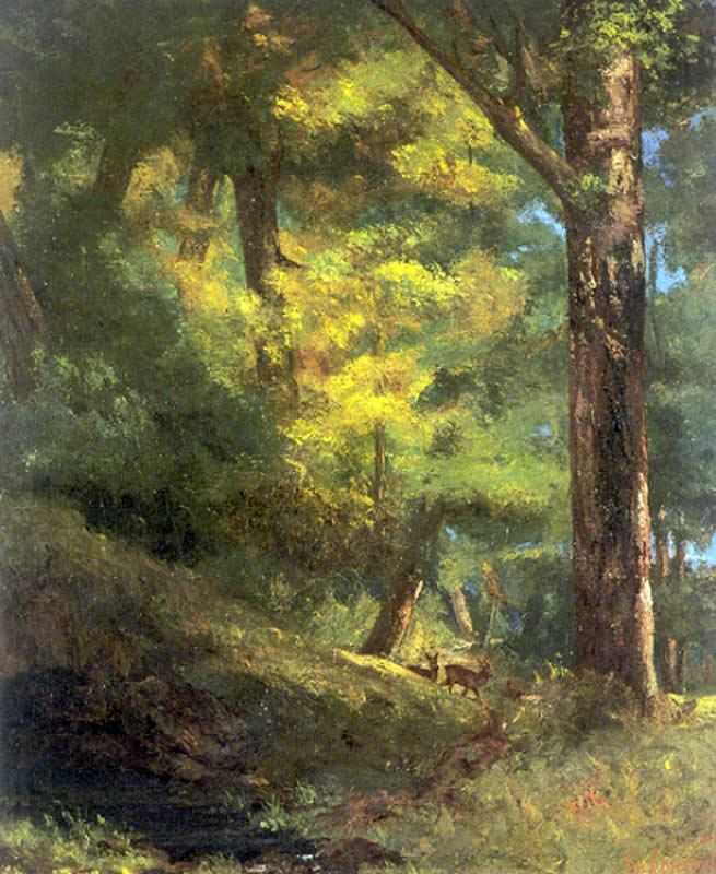 Famous Forest Paintings Famous goats paintings:Famous Forest Paintings