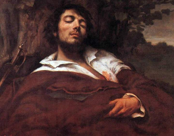 Gustave Courbet Wounded Man