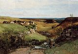 Gustave Courbet The Chateau d'Ornans painting