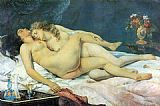 Gustave Courbet The Sleepers painting