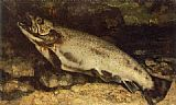 Gustave Courbet The Trout painting