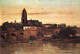 fran Canvas Paintings - View of Frankfurt