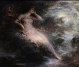 Henri Fantin-latour Wall Art - Queen of the Night