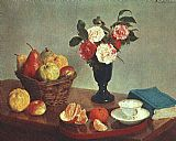 Life Canvas Paintings - Still Life 1866
