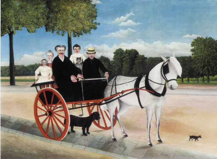 Henri Rousseau Old Juniere's Cart