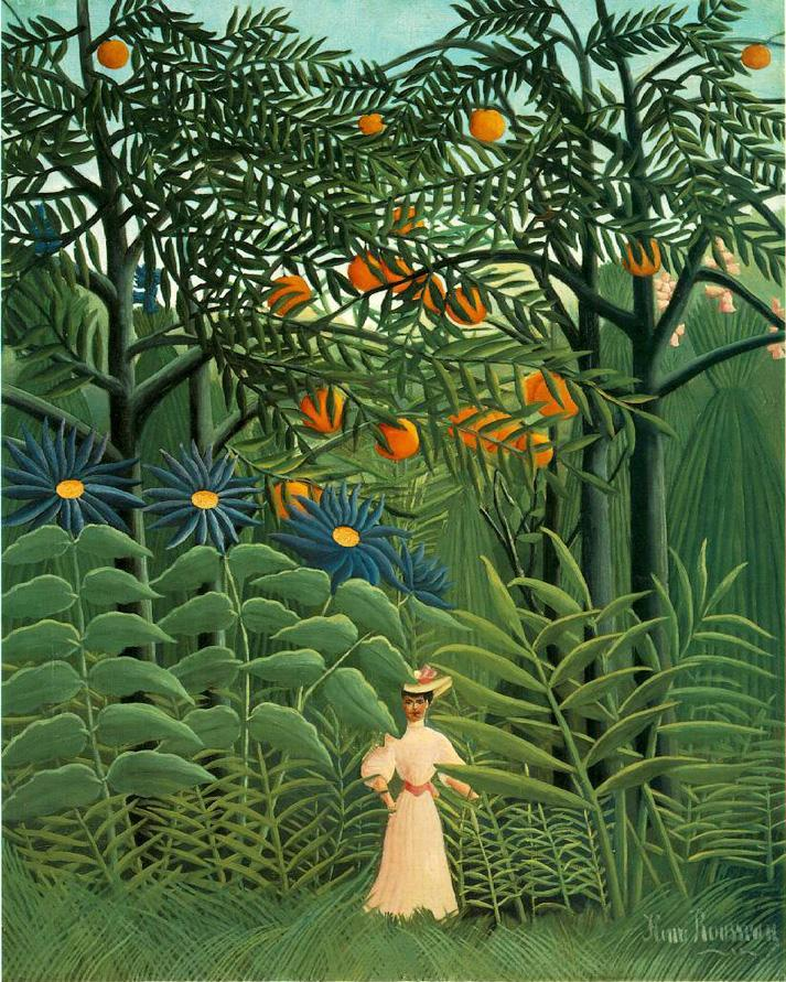 famous exotic paintings Famous Forest Paintings