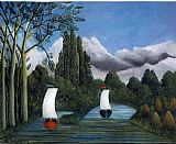 Henri Rousseau - Banks of the Oise
