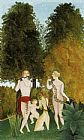 Henri Rousseau - Happy Quartet