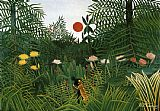 Negro Attacked by a Jaguar