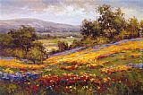 Hulsey Canvas Paintings - Campo di Fiore I