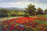 Hulsey Canvas Paintings - Campo di Fiore II
