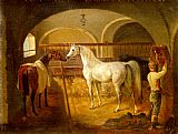Jacques Laurent Agasse - Stallinneres