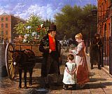 Jacques Laurent Agasse - The Flower Seller