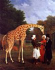 Jacques Laurent Agasse - The Nubian Giraffe