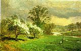 Famous Time Paintings - Apple Blossom Time