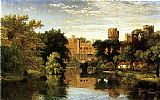 Famous Castle Paintings - Warwick Castle, England