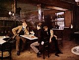 Jean Beraud - At the Bistro