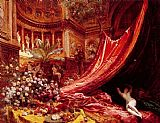 Jean Beraud - Symphony in Red and Gold