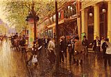 Jean Beraud - The Great Boulevard
