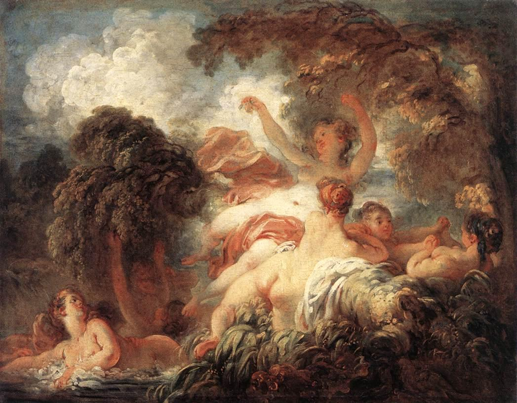Jean Fragonard The Bathers