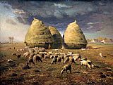 Jean Francois Millet - Haystacks Autumn
