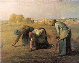 Jean Francois Millet The Gleaners painting