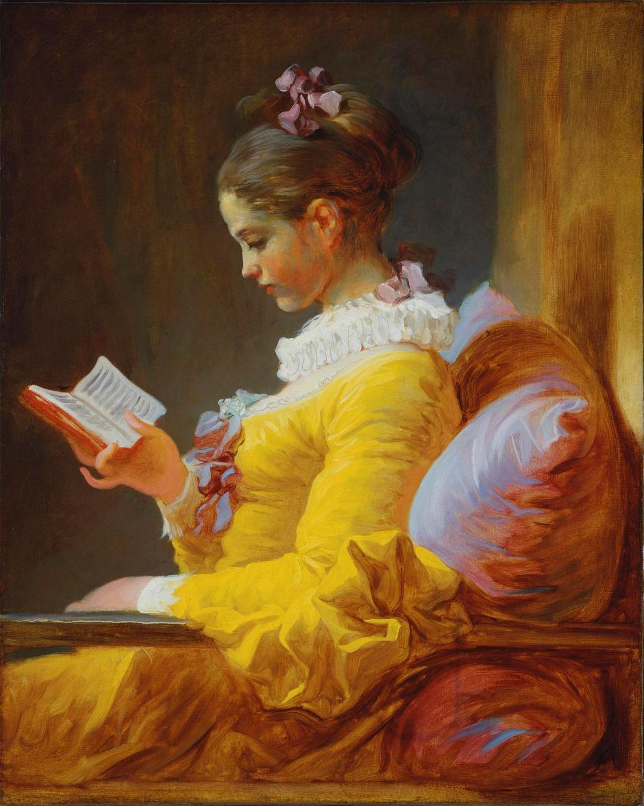 Jean-Honore Fragonard the reader