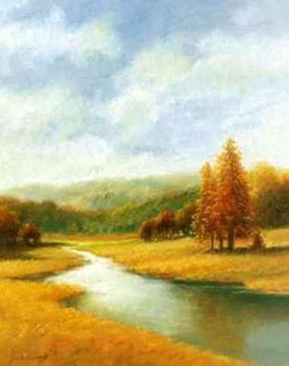 Autumn Canvas Paintings