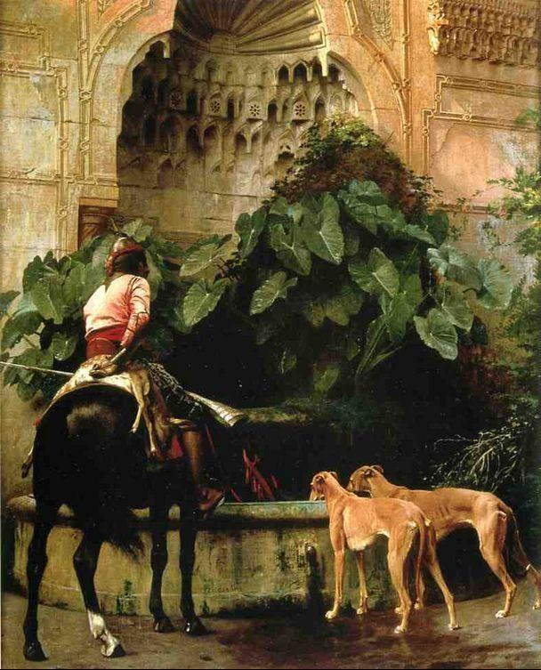 Jean-Leon Gerome Home from the Hunt