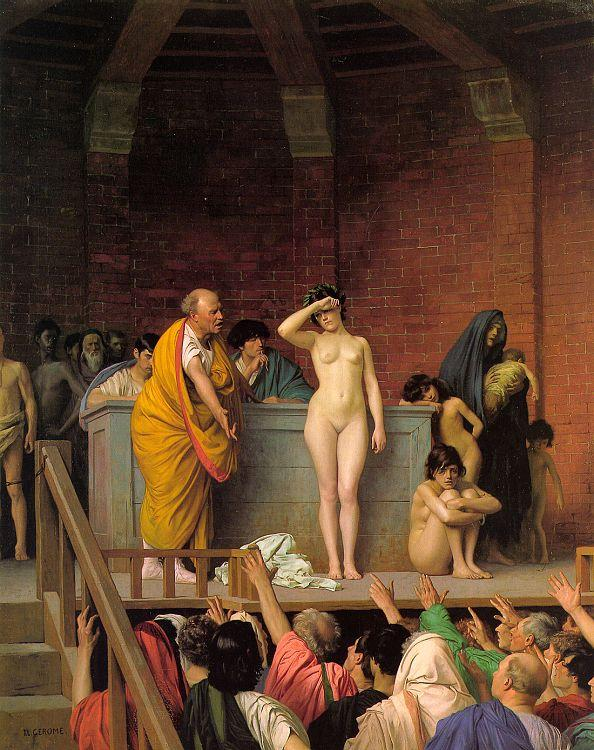 Jean-Leon Gerome Slave Auction