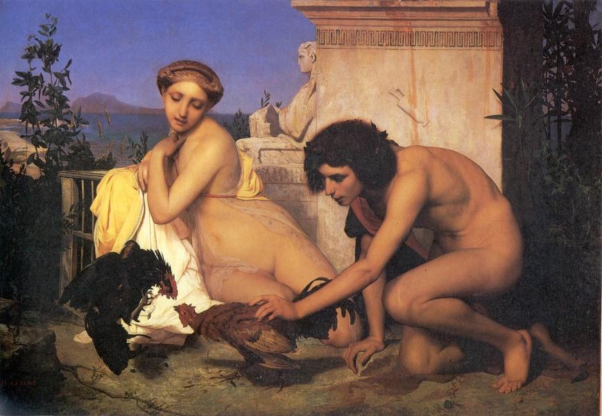 Jean-Leon Gerome The Cock Fight