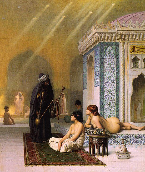 Jean-Leon Gerome The Harem Bath