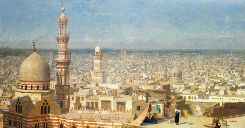 Jean-Leon Gerome View Of Cairo