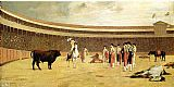 Jean-Leon Gerome Bull and Picador painting