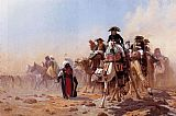 era Canvas Paintings - Napoleon and His General Staff