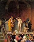 Jean-leon Gerome Famous Paintings - Slave Auction