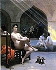 Jean-Leon Gerome The Women's Bath painting