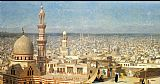 Jean-Leon Gerome View Of Cairo painting