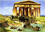 Jean-Leon Gerome View Of Paestum painting