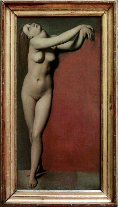 Jean Auguste Dominique Ingres Angelica Nude