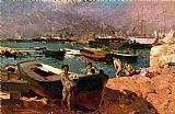 Famous Port Paintings - Valencia's Port