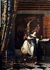 Johannes Vermeer Allegory of the Faith painting
