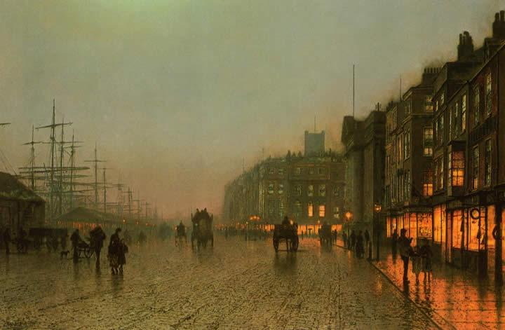 John Atkinson Grimshaw Famous Paintings