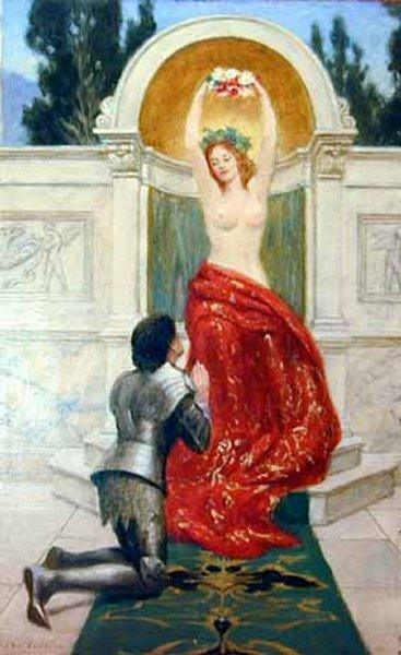 John Collier Tannhauser in the Venusberg