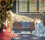 Famous Beauty Paintings - Sleeping Beauty
