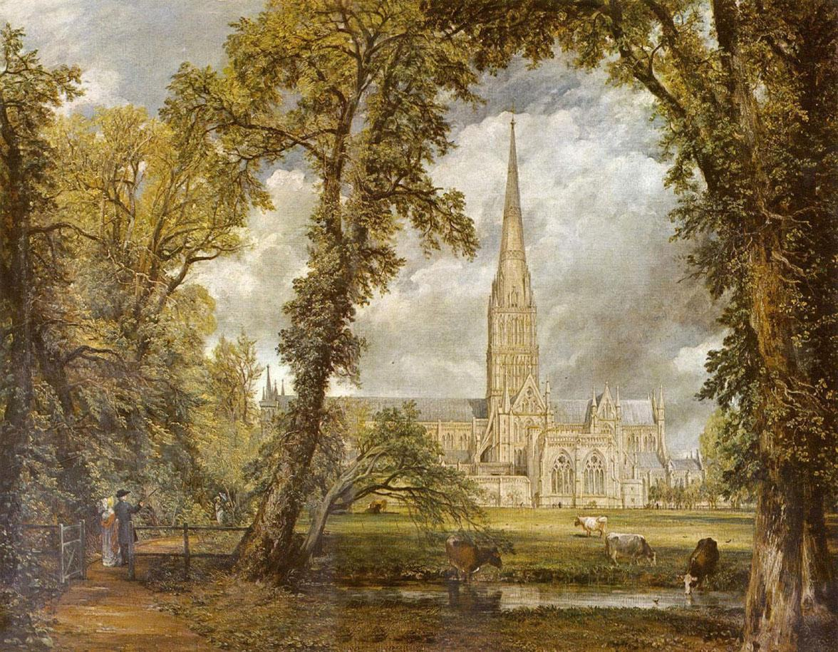 John Constable Salisbury Cathedral