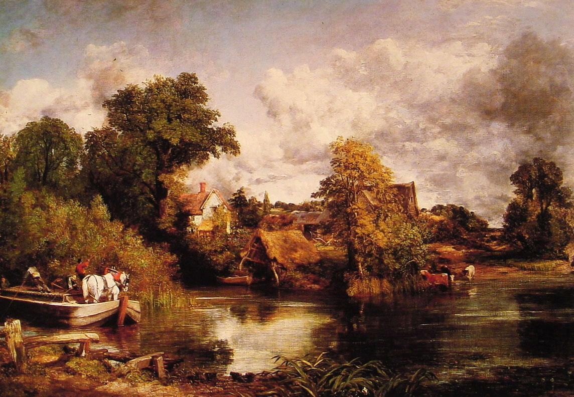John Constable The White Horse
