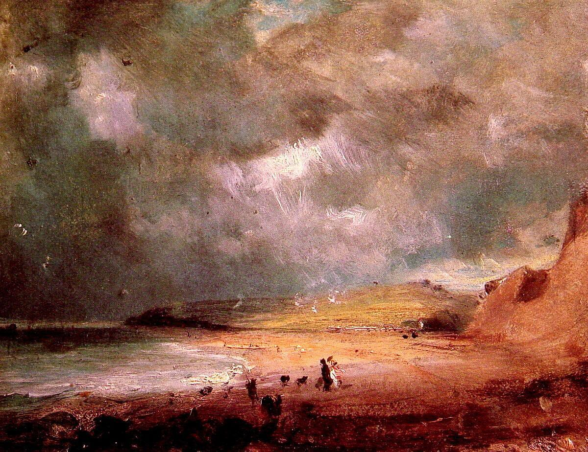 John Constable Weymouth Bay