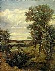 John Constable Dedham Vale of 1802 painting