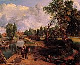 John Constable Flatford Mill painting